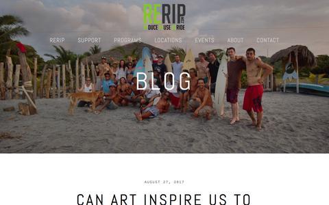 Screenshot of Blog rerip.org - Blog — RERIP - captured Sept. 21, 2018
