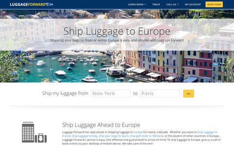 Ship Luggage to Europe | Shipping Luggage to Europe