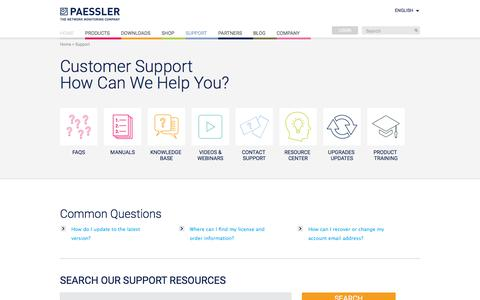 Customer Support: How Can We Help You?
