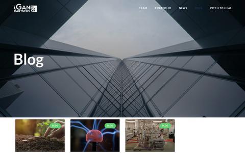 Screenshot of Blog iganpartners.com - Blog – iGan Partners - captured Dec. 10, 2018