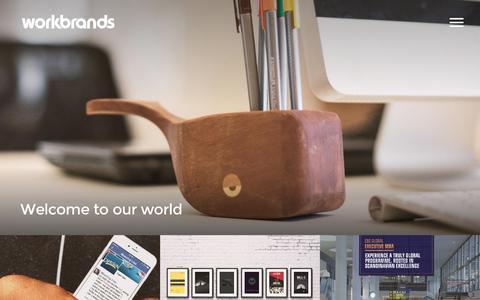 Screenshot of Press Page workbrands.co.uk - News   Workbrands - captured Feb. 26, 2016