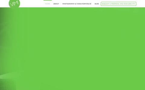 Screenshot of Home Page vimstudio.com - Vim Studio Dallas Texas Photography - VIM STUDIO - captured Feb. 17, 2016