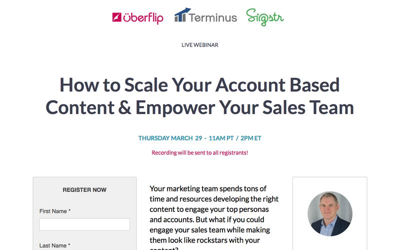 How to Scale Your Account Based Content & Empower Your Sales Team