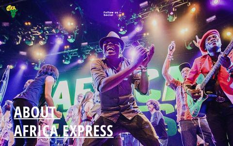 Screenshot of About Page africaexpress.co.uk - About Africa Express – Africa Express - captured July 23, 2016