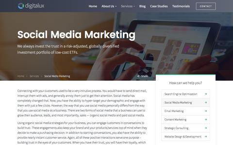 Social Media Marketing | Digitalux