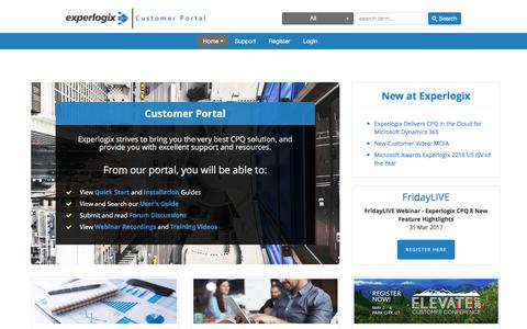 Experlogix Portal
