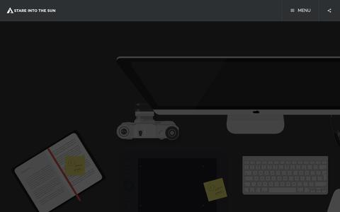 Screenshot of Jobs Page stareintothesun.com - Careers | Stare Into The Sun - captured Nov. 4, 2014