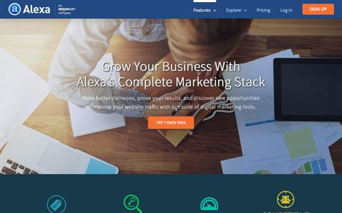 The Ultimate Marketing Stack - Digital Marketing Software by Alexa