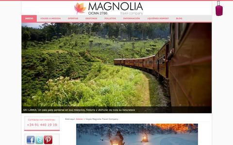 Viajes Magnolia Travel Company | MAGNOLIA TRAVEL