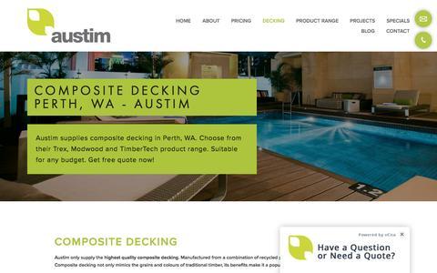 Composite Decking Perth, WA - Austim