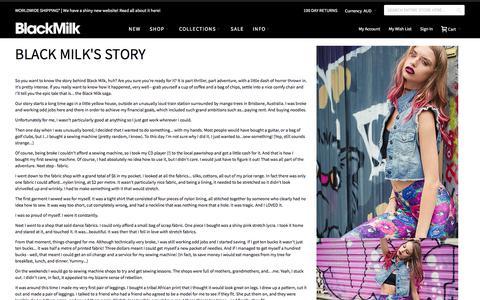 Black Milks Story