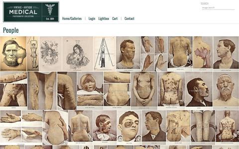 Screenshot of Team Page vintagemedstock.com - VintageMedStock | People - captured Feb. 28, 2016