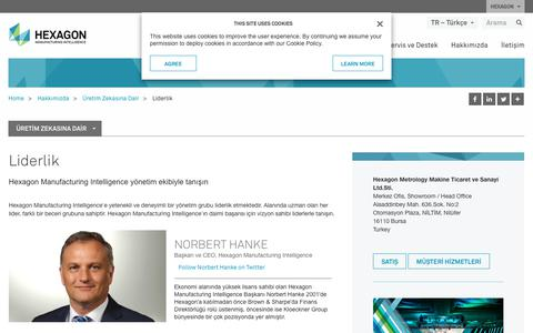 Screenshot of Team Page hexagonmi.com - Liderlik | Hexagon Manufacturing Intelligence - captured Nov. 25, 2017