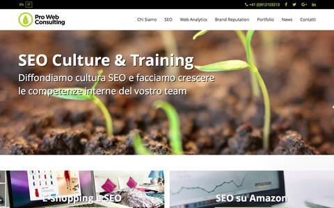Pro Web Consulting: Agenzia SEO - SEO Agency