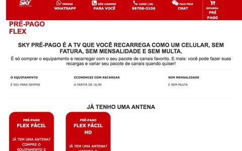 Screenshot of Home Page sollutio.net - TV por Assinatura | Assine SKY - captured July 4, 2018