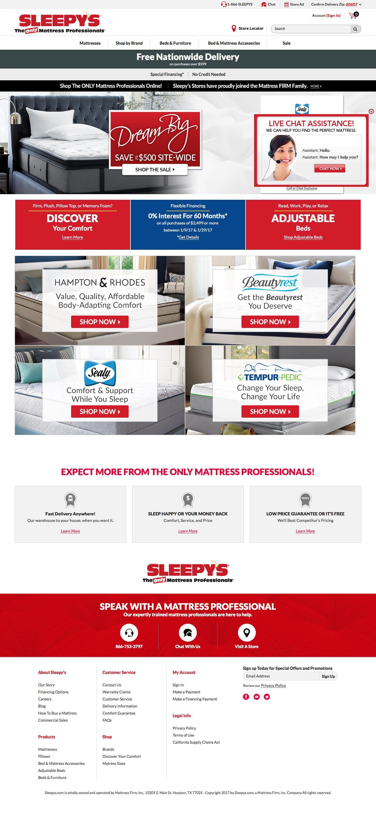sleepy s the mattress professionals