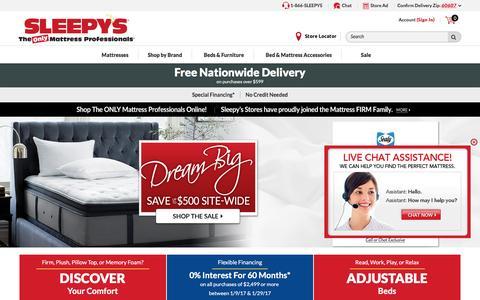 Sleepy's Mattress Store: The Mattress Professionals - Sleepy's