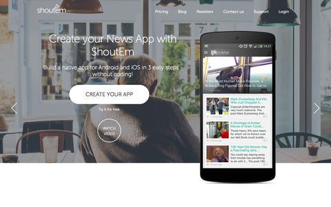 Create a News App - Make News Apps