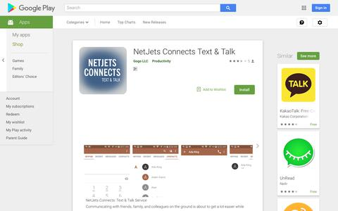 NetJets Connects Text & Talk - Apps on Google Play