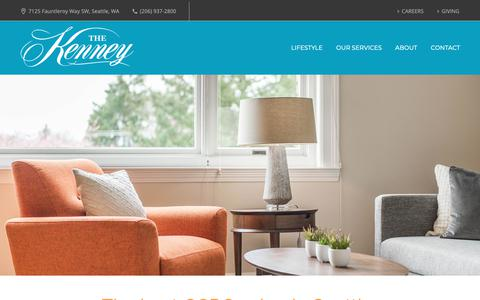 Screenshot of Pricing Page thekenney.org - Pricing at The Kenney - The Kenney - captured Oct. 20, 2018