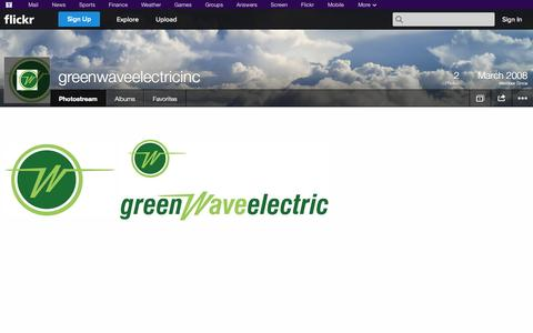 Screenshot of Flickr Page flickr.com - Flickr: greenwaveelectricinc's Photostream - captured Oct. 23, 2014
