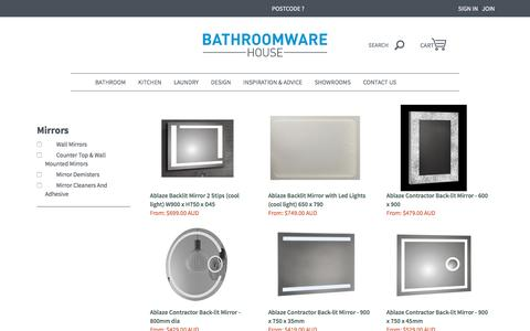 Mirrors LED Lighted and Standard | Bathroomware House