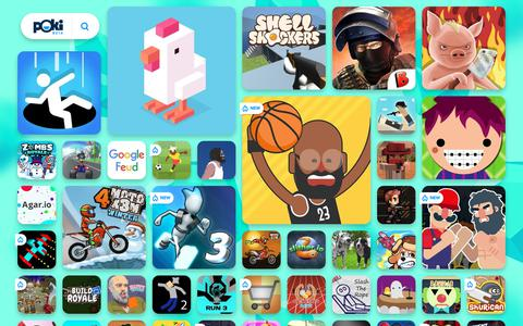 Screenshot of Home Page poki.com - FREE ONLINE GAMES - Play the Best Free Games at Poki.com! - captured Dec. 12, 2018