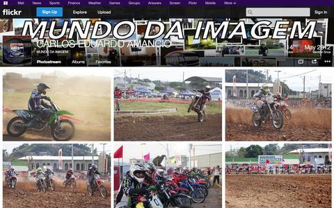 Screenshot of Flickr Page flickr.com - Flickr: MUNDO DA IMAGEM's Photostream - captured Oct. 22, 2014