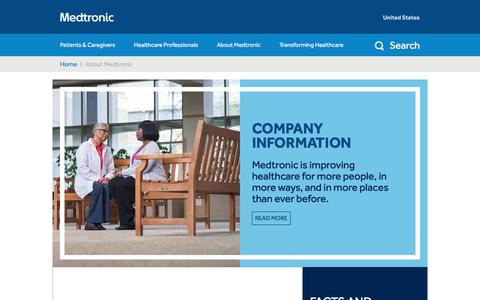 Improving Care Globally   About Medtronic