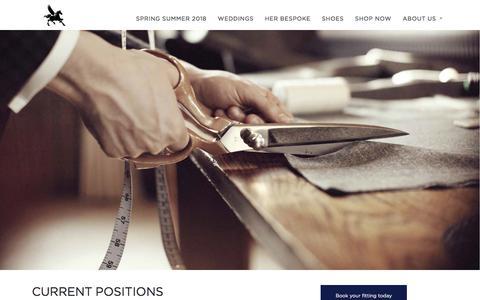 Screenshot of Jobs Page ericsana.com - Careers – Eric Sana - captured July 15, 2018