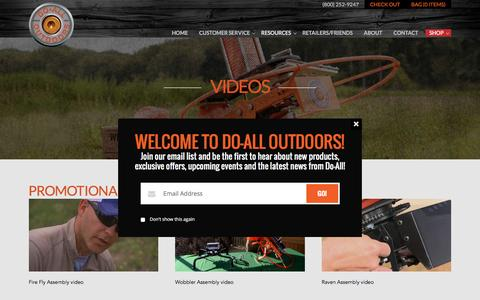 Videos | Do All Outdoors