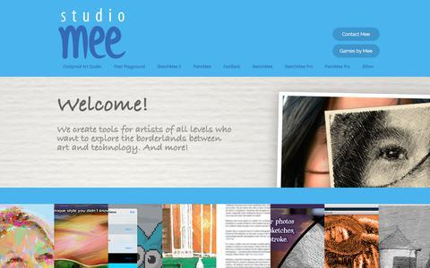 Screenshot of Home Page studiomee.com - Home | Studio Mee - captured Nov. 11, 2017