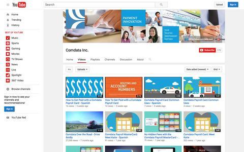 Comdata Inc.  - YouTube