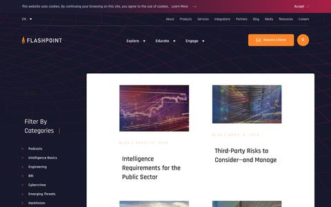 Screenshot of Blog flashpoint-intel.com - Flashpoint - BRI - captured Nov. 12, 2019