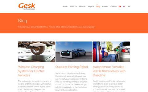 Screenshot of Blog gesk.com.tr - Blog - Gesk Technology - captured Sept. 28, 2018