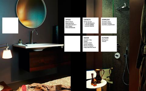 Screenshot of Home Page buscorappresentanze.it - Roberto Busco Rappresentanze | Arredo Indoor e Outdoor Napoli - captured Aug. 4, 2018