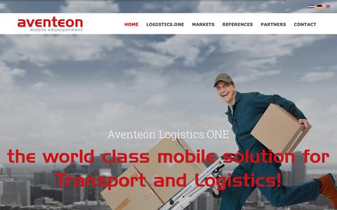 Screenshot of Press Page aventeon.com - News - captured Nov. 4, 2018