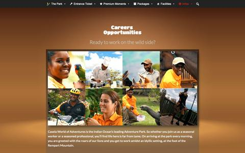 Screenshot of Jobs Page caselapark.com - Careers | CASELA - captured Nov. 20, 2018