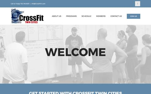 Screenshot of Trial Page crossfittc.com - Free Trial - Crossfit Twin Cities - captured Aug. 31, 2017
