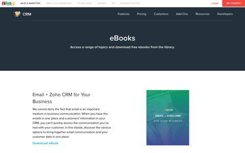 eBooks | Resources - Zoho CRM