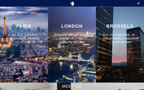 Screenshot of Contact Page avoltapartners.com - Contact | Avolta Partners - captured July 27, 2016