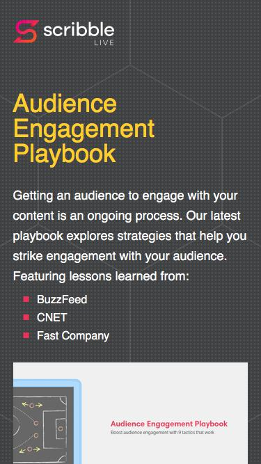 Audience Engagement Playbook