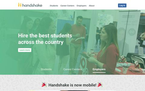 University Platform for Recruiting Students | Handshake