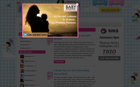 Screenshot of Blog little1.in - Blog Archives - - captured Oct. 27, 2014