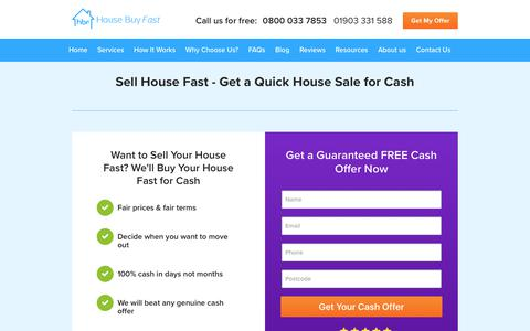 Sell My House Fast - 100% Guaranteed Quick Sale For Cash