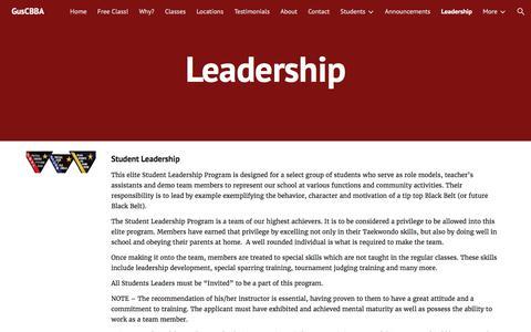 Screenshot of Team Page google.com - GusCBBA - Leadership - captured Sept. 23, 2017