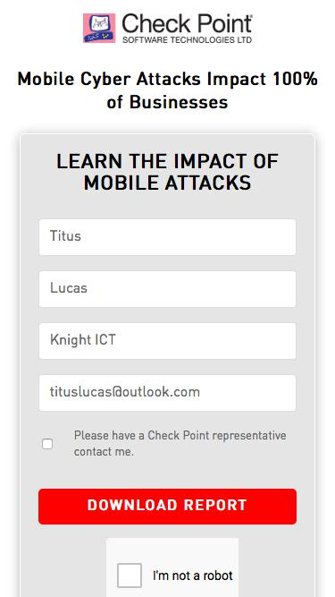 Mobile Attacks Impact Report | Check Point Software
