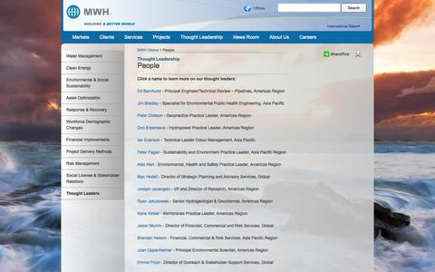 Screenshot of Team Page mwhglobal.com - Engineering Thought Leaders | MWH Global - captured Oct. 29, 2014