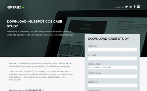 New Breed HubSpot COS Case Study