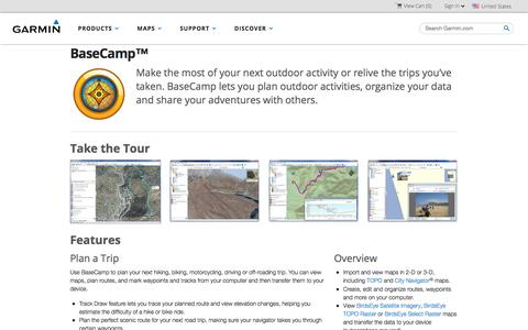 BaseCamp™ | Garmin | United States